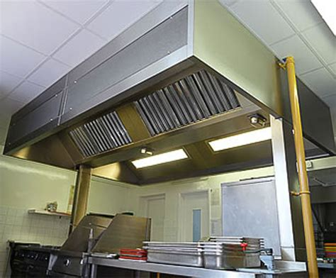 Kitchen Canopy Systems Midtherm Engineering Esi Kitchen Canopy Lights