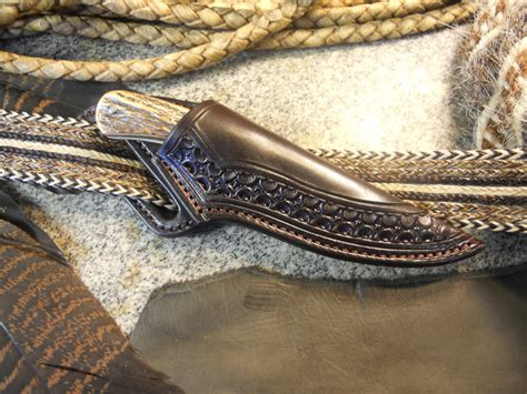 cowboy knife sheath eagle brand knives and sheaths