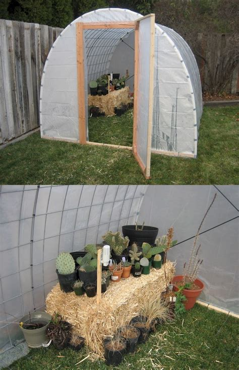 Backyard Greenhouse Diy by Diy Greenhouse Garden