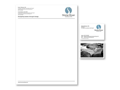 business consulting letterhead logos identity by aaron porvaznik at coroflot