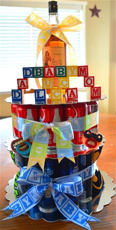 baby shower ideas for dads cake co ed baby shower idea for the diy gift