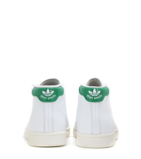 Marlee Ht 10 Sneakers Shoes Gold lyst adidas stan smith mid leather high top sneakers in