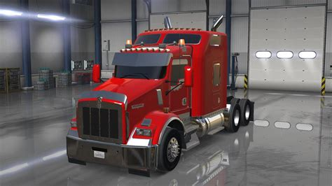 new t800 kenworth for kenworth t800 update v1 0 american truck simulator mod