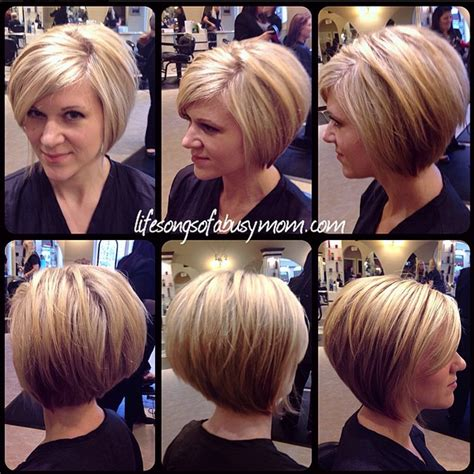 difference between stacked and layered haircut life songs of a busy mom how i style my inverted or