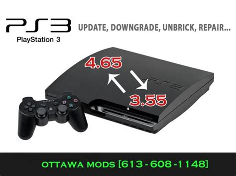 Sony Playstation 3 Slim Cfw 500 Reconditioned 2 Ds3 Op sony ps3 3 cfw downgrade jailbreak mod service 3 55 slim gloucester ottawa