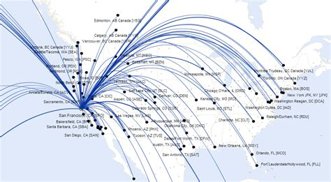 usa 3000 airlines route map united airlines route map america from san francisco