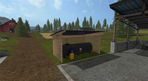 Gas Ls by Gas Station With Shelter And Light V 1 0 Fs 17