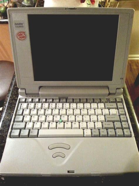 toshiba satellite tcs vintage laptop computer windows