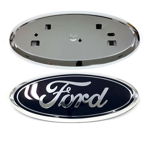 Grille Blues by 2011 2014 Ford Edge Front Grille Blue Emblem Chrome