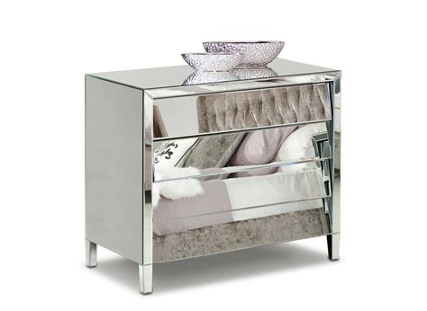 Mirrored Bedroom Dresser by Roanoke Modern Mirrored Bedroom Furniture Dresser