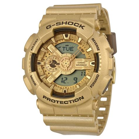 casio g shock gold resin s ga110gd 9acr g