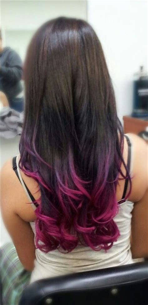 hair coloring tips 17 best ideas about purple ombre on pinterest ombre