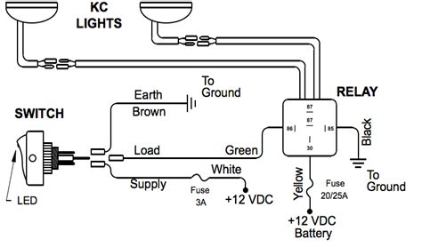 fog light wiring diagram with relay fog automotive
