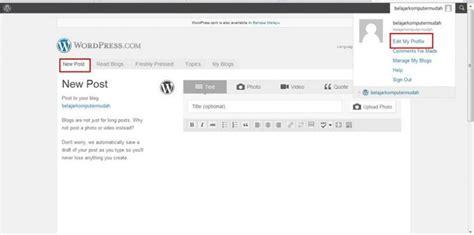 tutorial membuat blog wordpress pdf tutorial membuat blog percuma di wordpress com zulpress