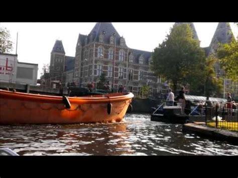 bootje amsterdamse grachten bootje varen door amsterdam grachten 6 juli 2013 youtube