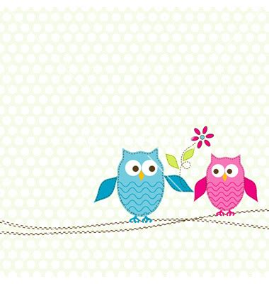 card invitation design ideas free greeting card templates square pink blue owl and flower