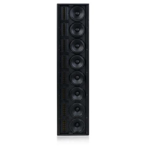 Speaker Line Array range powered line array speaker system atlasied
