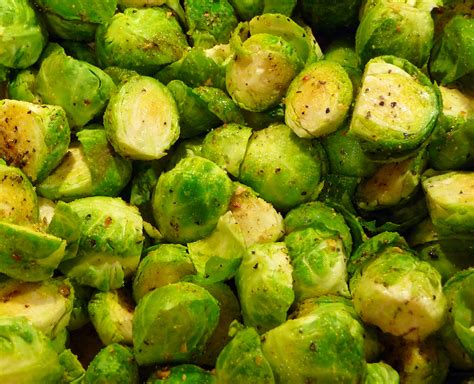 steamed brussel sprouts