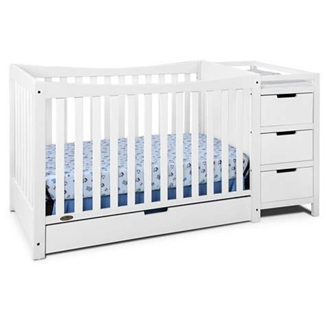 convertible crib changer graco remi 4 in 1 convertible crib and changer target
