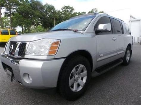 automotive repair manual 2005 nissan armada engine control sell used 2005 nissan armada le 4x4 power everything dealer maintained no reserve in pompano