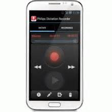 dictation for android philips lfh0747 dictation recorder for android