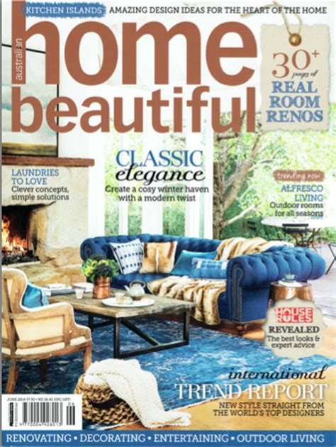 house beautiful mag home beautiful magazine june 2014 kindle living