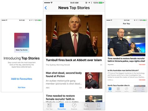 apple news apple news can now feature top stories curated by apple