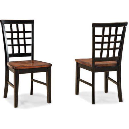 imagio home arlington lattice  dining chairs set