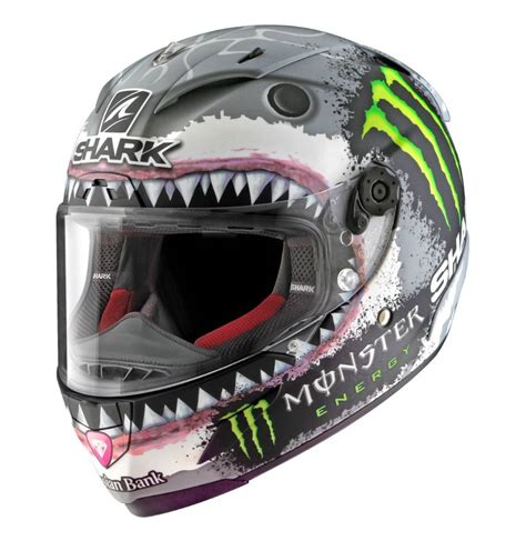 Helm Shark Lorenzo shark race r pro lorenzo white shark helmet chion helmets