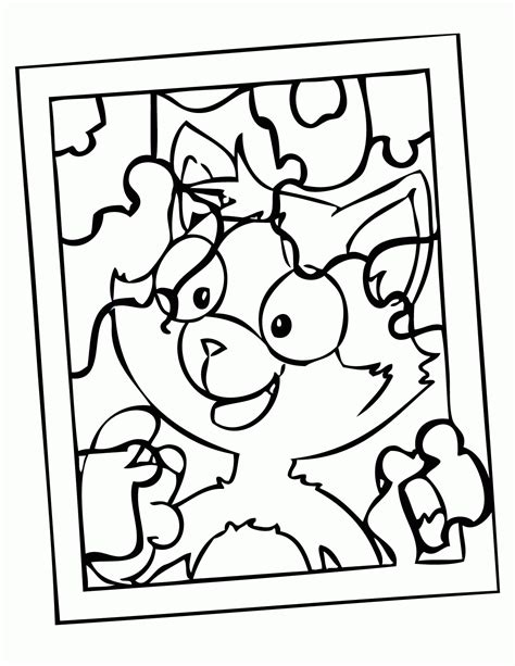 autism puzzle coloring page coloring home
