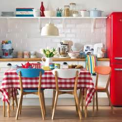 Retro Kitchen Ideas by Red And White Retro Kitchen Housetohome Co Uk