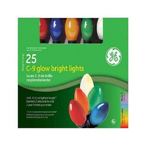Tis Your Season Ge 25 Count Multi String A C9 Glow