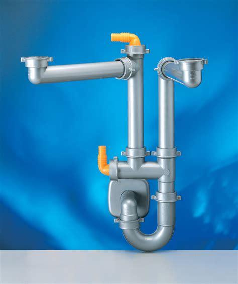 kitchen sink plumbing kit franke lira spazio 2 space saver plumbing kit for