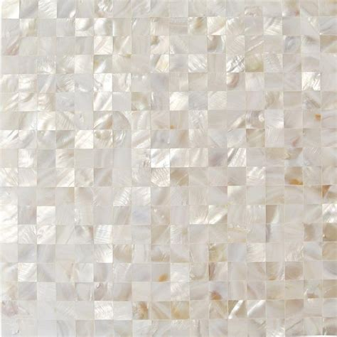groutless tile serene white squares groutless pearl shell jpg