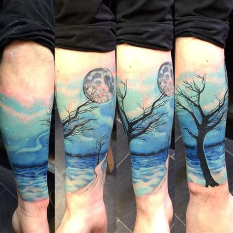 watercolor tree tattoo sleeve 75 tree sleeve designs for ink ideas with