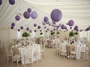 Informal Table Setting Ideas - decorating round tables purple and silver table decorations purple wedding decorations ideas