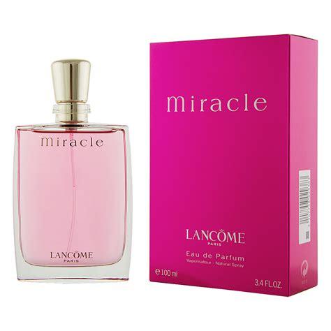 Lancome Miracle 100ml lancome miracle eau de parfum 100 ml 187 preissuchmaschine de