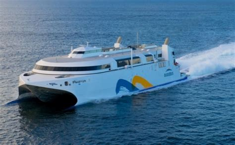 ferry ngv catamaran incat s lng ferry for buquebus just named francisco