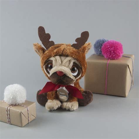 reindeer pug personalised reindeer pug 183 it s handmade