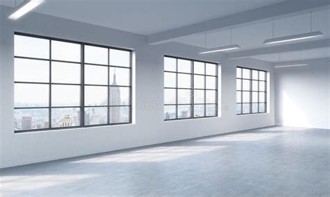Solutions For D Interior Walls by Modern Bright Clean Interior Of A Loft Style Open Space Windows And White Walls New York
