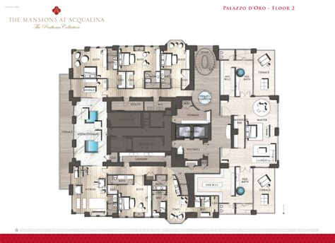 floor plans for mansions mansions at acqualina penthouse hits the market for 55m