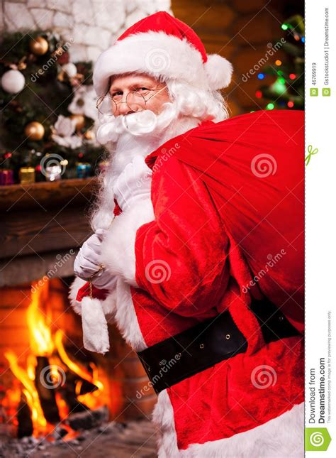 santa claus stock photo image