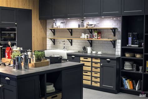 open shelving in a bright kitchen decoist practical and trendy 40 open shelving ideas for the