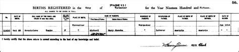 Worcester County Birth Records The Birth Of Bertha Theresa Danko 1915 Steve S Genealogy