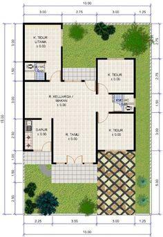 desain kamar mandi mini 12 denah rumah minimalis 3 kamar tidur denah rumah