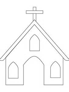 Iglesia Para Pintar Bonita Colorear Iglesias  sketch template