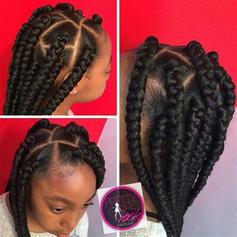 hair style to do with thick box plaits 25 best ideas about box braids for kids on pinterest