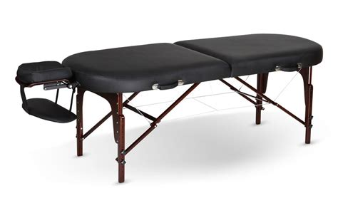 massage bench oval deluxe massage table