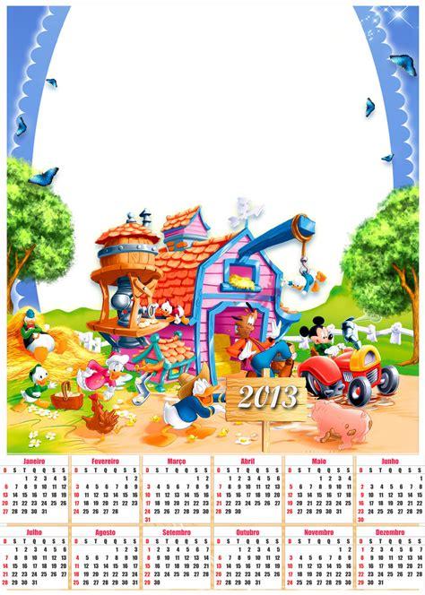 Calendario Disney Ba 250 Da Web Calend 225 Infantil 2013 Disney Para Imprimir