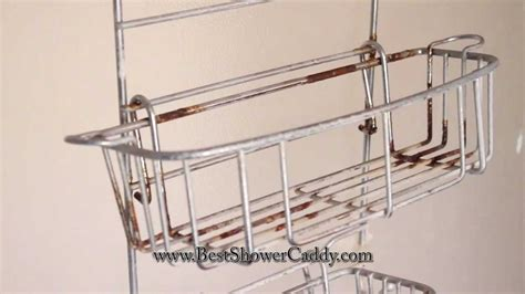 Rust proof shower caddy youtube